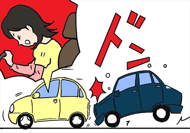 交通事故  のイメージ