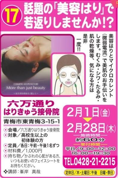 美肌治療 チラシ 第14